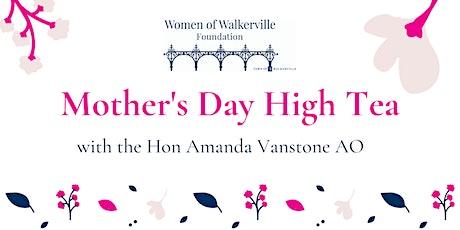 CANCELLED - High Tea with the Hon Amanda Vanstone AO tickets