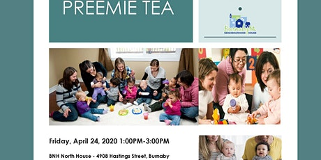 Preemie Tea time for Parents of Premature Children (Free) tickets