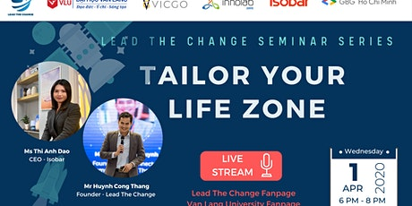 Seminar Series: TAILOR YOUR LIFE ZONE tickets