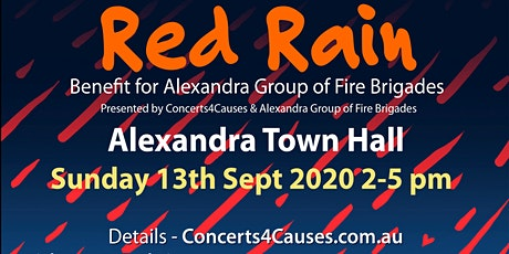 Red Rain Benefit Concert tickets
