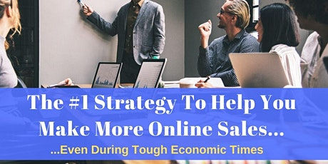 The #1 Strategy To Help You Make More Online Sales... tickets