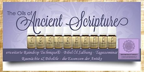 Bibel Öl Raindrop Tickets