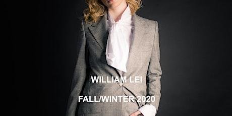 WILLIAM LEI Fall/Winter 2020-21 Runway San Francisco tickets