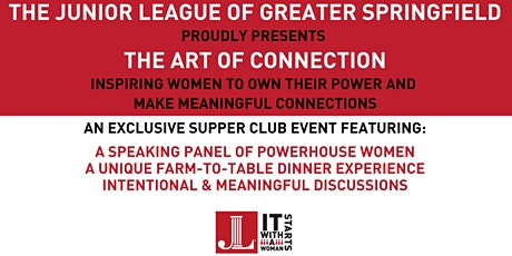 The Art of Connection- A JLGS Exclusive Supper Club Event tickets
