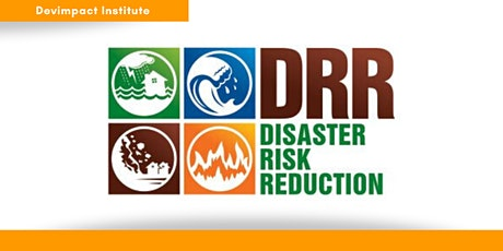 Training on Disaster Risk Reduction tickets