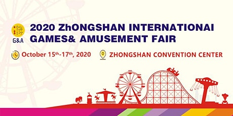 Zhongshan International Games & Amusement Fair tickets