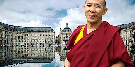 BORDEAUX | Le Bonheur & La Méditation | Lama Samten - Maître Bouddhiste billets