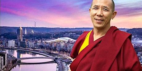 LIEGE | Le Bonheur & La Méditation | Lama Samten - Maître Bouddhiste billets