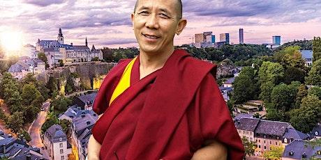 LUXEMBOURG   Le Bonheur & La Méditation   Lama Samten - Maître Bouddhiste billets