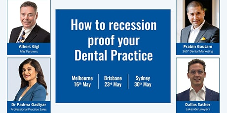 How to recession proof your Dental Practice tickets