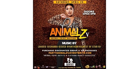 Party Animalz V: Animal Print Edition tickets