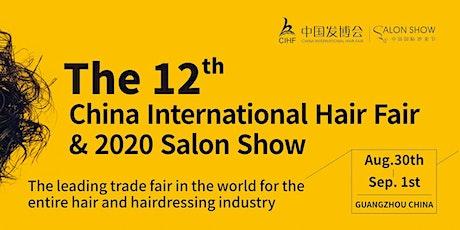 2020 The 12th China International Hair fair & Salon Show tickets