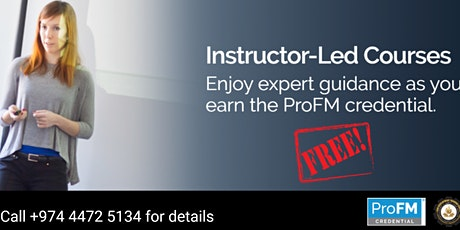 Free ProFM Instructor-led Webinar Training (DEMO CLASS) Dates 10, 17, & 24 April 2020 tickets