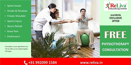 Mehdipatnam, Hyderabad: Physiotherapy Special Offer tickets