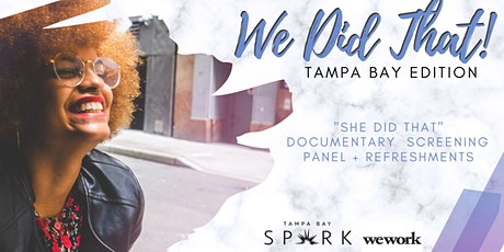 """""""We Did That! """" Tampa Bay Edition tickets"""