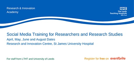 Social Media Training for Researchers (Advanced) tickets