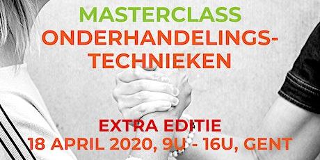 Masterclass Onderhandelingstechnieken tickets