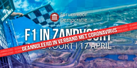 Geannuleerd F1 in Zandvoort Geannuleerd tickets