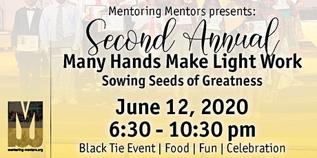 2nd Annual Many Hands Make Light Work tickets