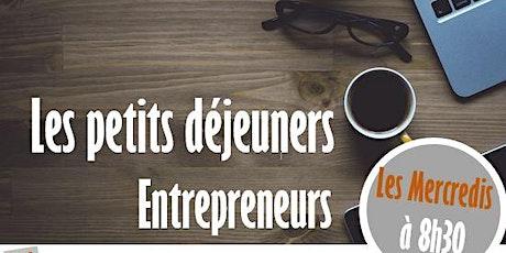 Petit déjeuner Entrepreneurs  : Mettre en place sa stratégie commerciale billets