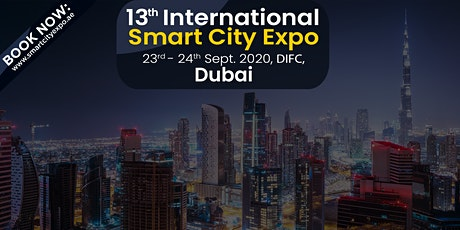 13th International Smart City Expo 2020, DIFC , Dubai tickets