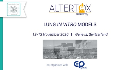 In Vitro Lung Models tickets
