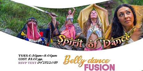 Spirit of Dance - Belly-dance Fusion Classes tickets
