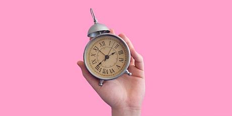Atelier Créa - Gestion du temps : Soyez plus serein(e) et efficace tickets
