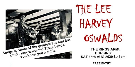 The Lee Harvey Oswalds tickets