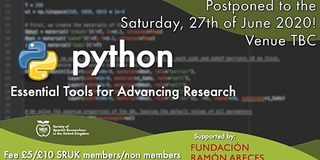 Python - SRUK Research Computing Workshop (part 2) tickets