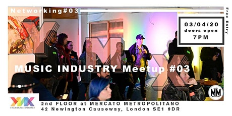 Music Industry Meetup #03 tickets
