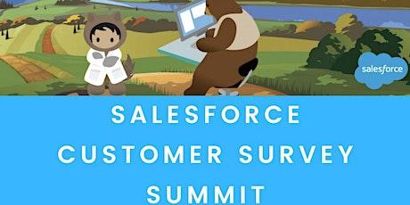 Salesforce survey summit tickets