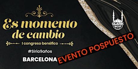 I congreso benéfico en Barcelona entradas
