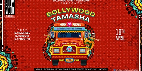 Bollywood Tamasha tickets