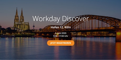 Workday Discover - Köln Tickets