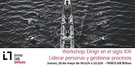 APLAZADO: Workshop - Dirigir en el siglo XXI entradas