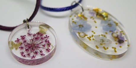 Resin Jewellery Making Workshop (2 Parts) tickets