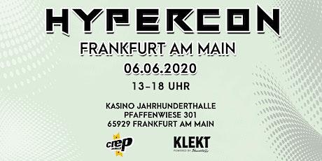 HYPERCON Sneakerconvention Frankfurt Tickets