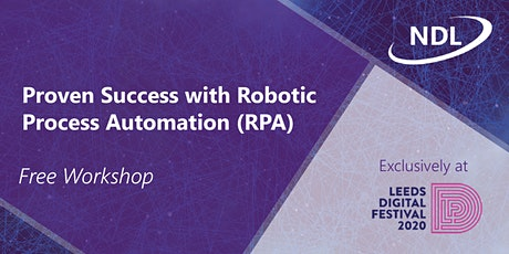 Proven Success with Robotic Process Automation (RPA) tickets