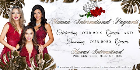 Hawaii International Pageants 2020 tickets