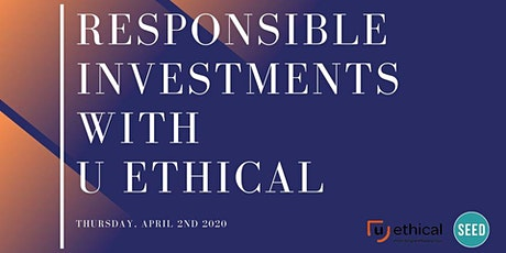 Responsible Investments With U Ethical tickets
