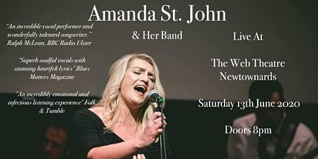 Amanda St. John Live At The Web Theatre tickets