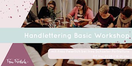 Handlettering Basic Workshop Tickets