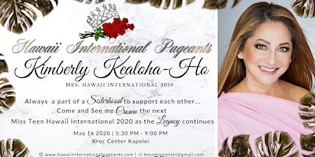Support Mrs. Hawaii International 2019 tickets