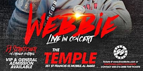 Webbie Live in Concert 4th of July Weekend tickets