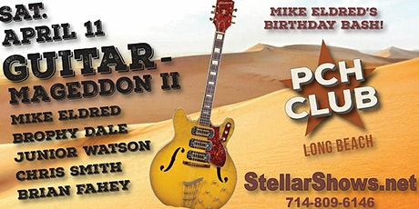 Mike Eldred's Guitar-Mageddon Blues Extravaganza tickets