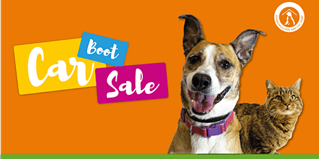 Charity Car Boot Sale in aid of Edinburgh Dog and Cat Home tickets