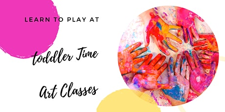 Sip 'n' Dip Studio - Toddler Time Art Class tickets
