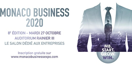 8ème SALON MONACO BUSINESS 2020 billets