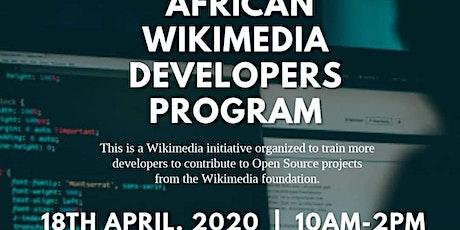 AFRICAN WIKIMEDIA DEVELOPERS PROGRAM tickets